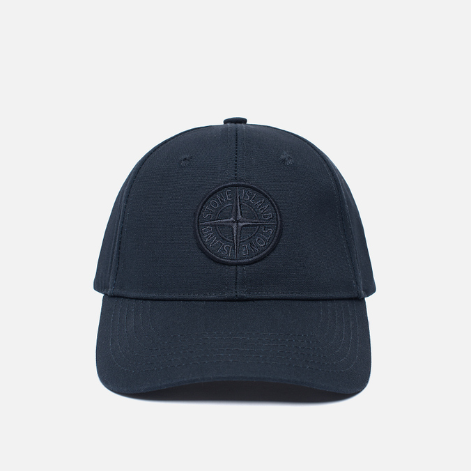 Мужская кепка Stone Island Compass Embroidery Front Navy Blue