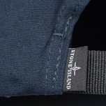 Мужская кепка Stone Island Compass Embroidery Front Navy Blue фото- 4