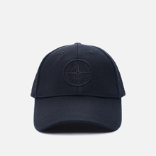 Кепка Stone Island Wool Mix Compass Logo Embroidered Blue фото- 0
