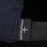 Мужская кепка Stone Island Wool Mix Compass Logo Embroidered Blue фото- 3