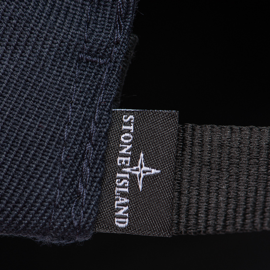 Кепка Stone Island Wool Mix Compass Logo Embroidered Blue