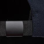 Мужская кепка Stone Island Wool Mix Compass Logo Embroidered Blue фото- 4