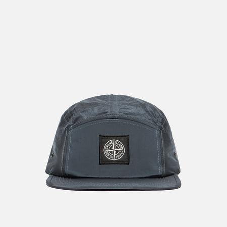 Мужская кепка Stone Island Nylon Metal Blue Grey