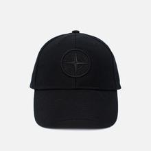 Кепка Stone Island Wool Mix Compass Logo Embroidered Black фото- 0