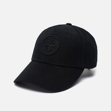 Кепка Stone Island Wool Mix Compass Logo Embroidered Black фото- 1