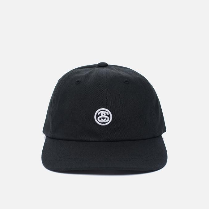 Мужская кепка Stussy Contrast Strap Black