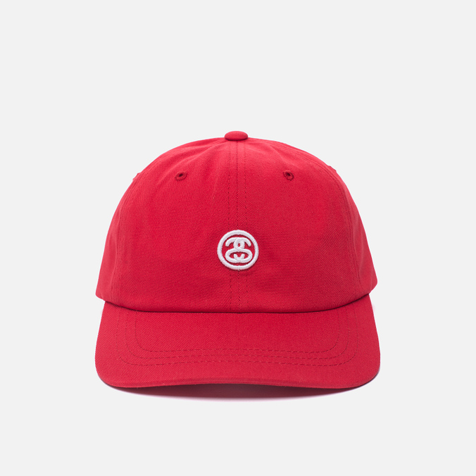 Мужская кепка Stussy Contrast Strap Red