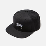 Кепка Stussy Stock 6 Panel Embroidered Logo Black фото- 2
