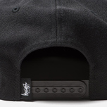 Кепка Stussy Stock 6 Panel Embroidered Logo Black фото- 3