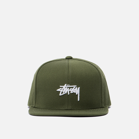 Кепка Stussy Stock FA17 Snapback Olive