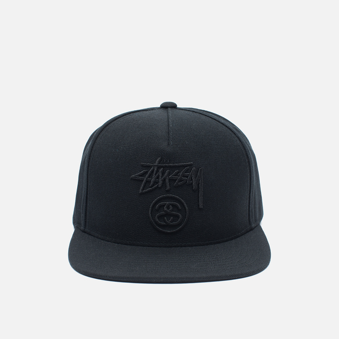 Мужская кепка Stussy Stock Lock FA16 Black