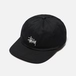 Кепка Stussy Stock Low Pro 6 Panel Black фото- 2