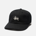 Кепка Stussy Stock Low Pro 6 Panel Embroidered Logo Black фото- 1