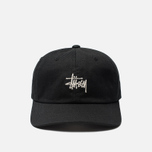 Кепка Stussy Stock Low Pro 6 Panel Embroidered Logo Black фото- 0