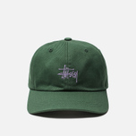 Кепка Stussy Stock Low Pro 6 Panel Embroidered Logo Green фото- 0