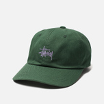 Кепка Stussy Stock Low Pro 6 Panel Embroidered Logo Green фото- 1