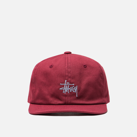 Кепка Stussy Stock Low Pro 6 Panel Red