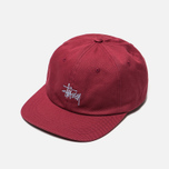 Кепка Stussy Stock Low Pro 6 Panel Red фото- 2