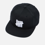 Мужская кепка Undefeated 5 Strike Snapback Black фото- 2