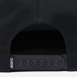 Мужская кепка Undefeated 5 Strike Snapback Black фото- 3