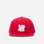 Мужская кепка Undefeated 5 Strike Snapback Red фото- 0
