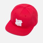 Мужская кепка Undefeated 5 Strike Snapback Red фото- 2