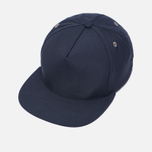 Мужская кепка Universal Works Baseball Tropical Wool Navy фото- 2
