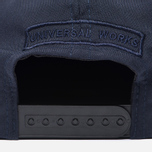 Мужская кепка Universal Works Baseball Tropical Wool Navy фото- 3