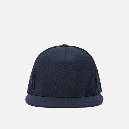 Мужская кепка Universal Works Trucker Tropical Wool Navy