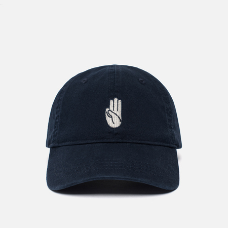 Мужская кепка Wood Wood Hand Low Profile Navy