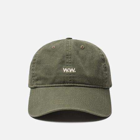 Кепка Wood Wood Low Profile W.W. Embroidery Dark Green