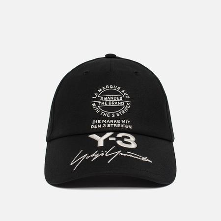 Мужская кепка Y-3 Street Black