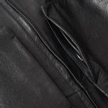 Мужская кожаная куртка Acronym x Nemen Double Zipper Rider Black фото- 3
