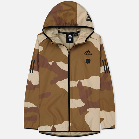 Мужская куртка ветровка adidas Originals x Undefeated Response Hooded Wind Dune/Tactile Khaki/Base Khaki