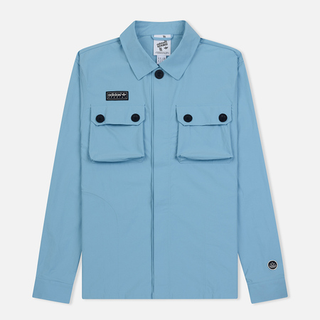 Мужская куртка adidas Spezial Gilbraith Overshirt Clear Blue