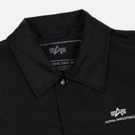 Мужская куртка Alpha Industries Coach TT Black фото- 2