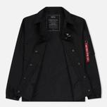 Мужская куртка Alpha Industries Coach TT Black фото- 1