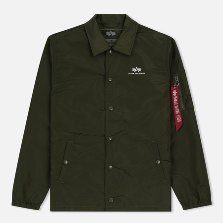 Мужская куртка Alpha Industries Coach TT Dark Green