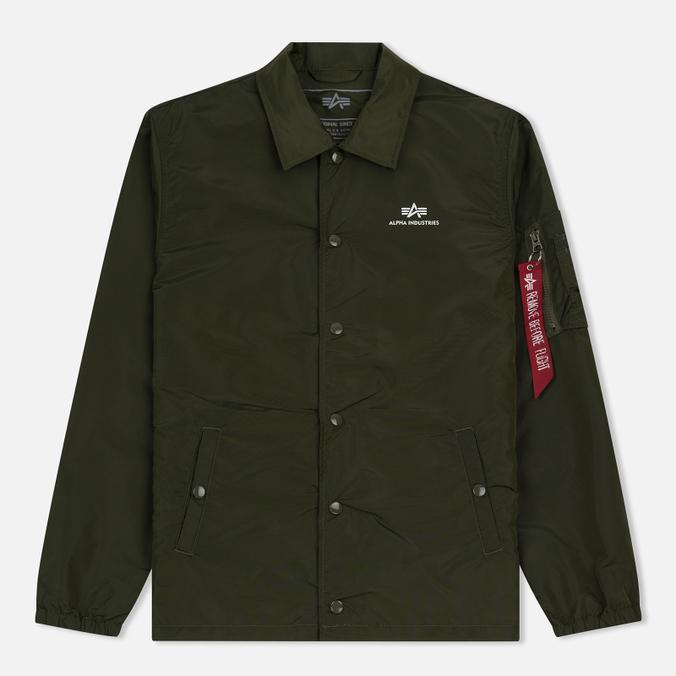 Мужская куртка Alpha Industries Coach TT Dark Green
