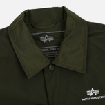 Мужская куртка Alpha Industries Coach TT Dark Green фото- 2