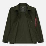 Мужская куртка Alpha Industries Coach TT Dark Green фото- 1