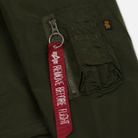 Мужская куртка Alpha Industries Coach TT Dark Green фото- 6