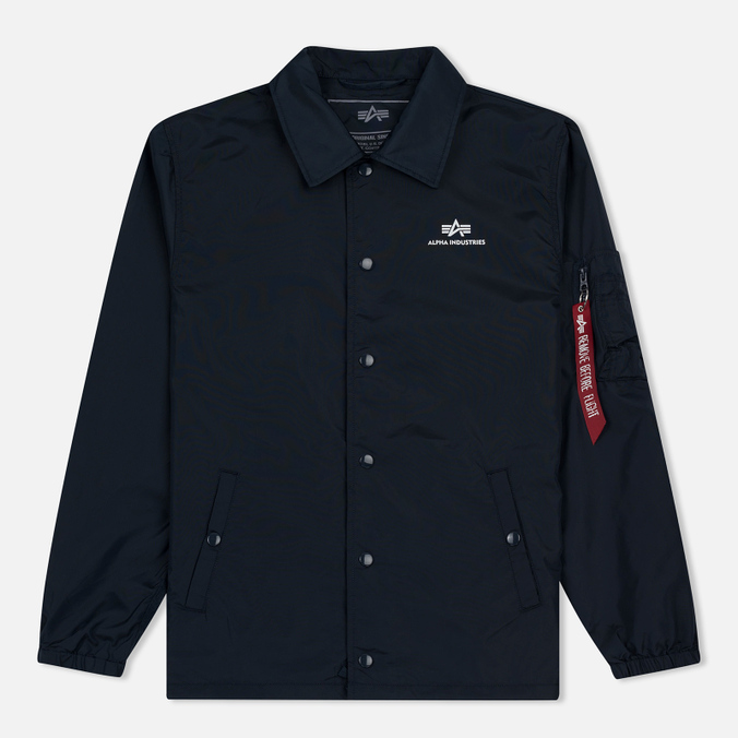 Мужская куртка Alpha Industries Coach TT Replica Blue