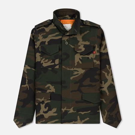 Мужская куртка Alpha Industries M-65 Heritage Woodland Camo