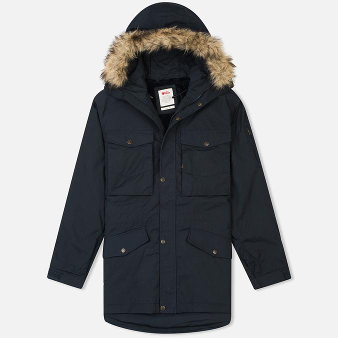 Мужская куртка аляска Fjallraven Sarek Winter Dark Navy