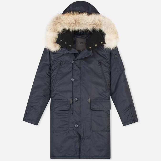 Мужская куртка аляска Spiewak Arctic N3-B Total Eclipse