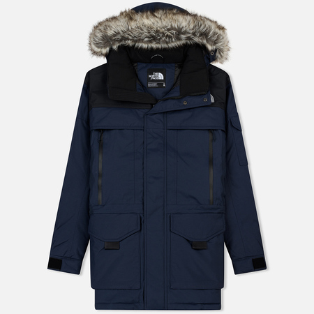 Мужская куртка аляска The North Face MC Murdo 2 Urban Navy/TNF Black