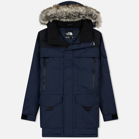 Мужская куртка аляска The North Face MC Murdo 2 Urban Navy/TNF Black