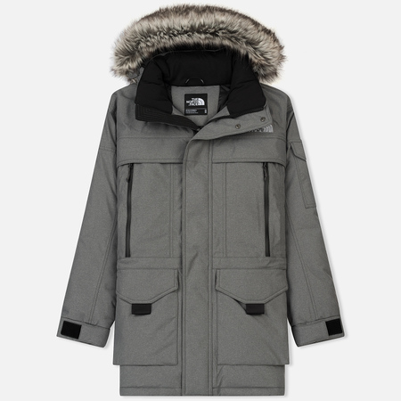 Мужская куртка аляска The North Face Mcmurdo 2 Medium Grey Heather