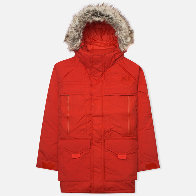 Мужская куртка аляска The North Face Mcmurdo 2 Red